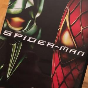 """Bild på omslaget till """"Spiderman""""."""