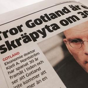Bild av tidningsartikel