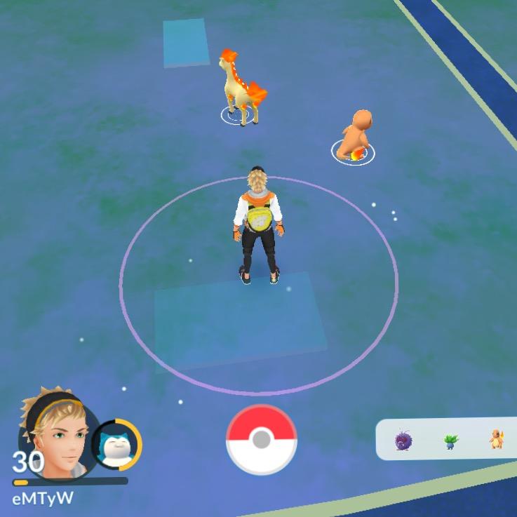 Bild från Pokemon Go